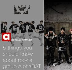 Five things you should know about rookie group AlphaBAT | http://www.allkpop.com/article/2013/11/five-things-you-should-know-about-rookie-group-alphabat