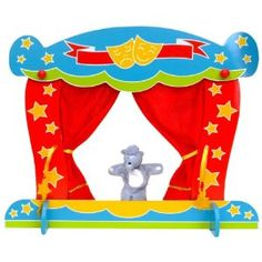 Tellatale Finger Puppet Theatre: Amazon.co.uk: Toys & Games