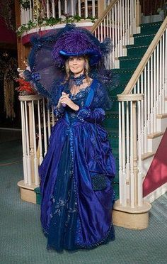 Handmade Victorian dress. $250. Includes parasol.   Great for costume parties. Victorian fairs.  Size 8ish