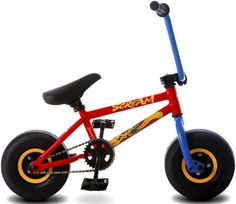 Rocker Bmx Mini Stunt Bike Custom Hot Rod Wheels Metal