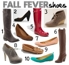 Fall Shoes!!