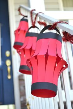 A Lemon Squeezy Home: Ninjago Party: Part One - good homemade decorations