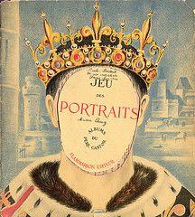 """Jeu des Portraits"" (1934) illustrations de Georges Tcherkessof"