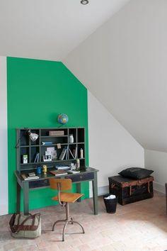 Du vert pour entourer le bureau