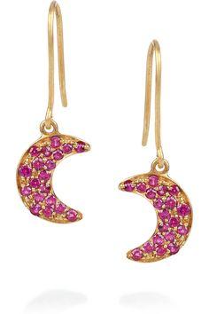 Crescent earrings, Gamma Phi Beta