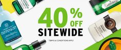 The Body Shop Canada Sale: Save 40% Off Sitewide  FREE Shipping on $50! http://www.lavahotdeals.com/ca/cheap/body-shop-canada-sale-save-40-sitewide-free/172725?utm_source=pinterest&utm_medium=rss&utm_campaign=at_lavahotdeals