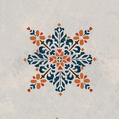 Moroccan Stencils | Embroidered Star Stencil | Royal Design Studio