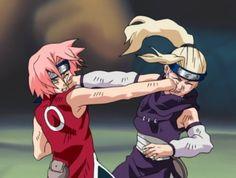 Read Born From a Fire (Kakashi daughter fanfic, KibaxOC story) - Miharu vs. Ivy and Sakura vs. Ino - Wattpad
