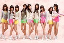 リビング ルーム の装飾snsd少女バンド韓国ポスター 27 × 40 センチ壁ステッカー(China (Mainland))