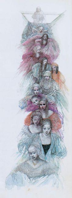 THE TWELVE DANCING PRINCESSES BY LIDIA POSTMA