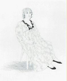 Celia   David Hockney, Celia (1969)
