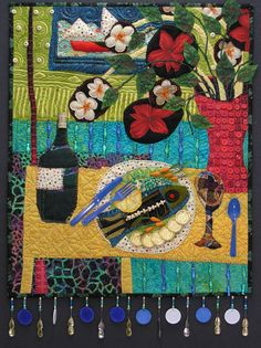 Fish with Carrots by Pamela Allen | 2008 Quilts Kingston