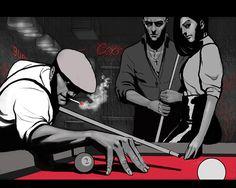 Noir 2 by artoftu in Film Noir: Collection of Dark Digital Artworks