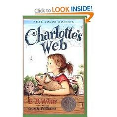 """""""An affectionate, sometimes bashful pig named Wilbur befriends a spider named Charlotte, who lives in the rafters above his pen. A prancing, playful bloke, Wilbur is devastated when he learns of the destiny that befalls all those of porcine persuasion. Determined to save her friend, Charlotte spins a web that reads """"Some Pig,"""" convincing the farmer and surrounding community that Wilbur is no ordinary animal and should be saved. In this story of friendship, hardship, and the passing on into…"""