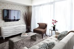 20 Design Ideas for Condo Living Areas ◆ Queensway living, Interior Design Vancouver