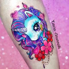 Unicorns are one of my favorite subjects to tattoo🦄! Thank you so much Zeniah 💕 I really enjoyed do this piece ✨ Done at: @boldasbrasstattoo  Estoy en proceso de contestar sus mails para México 🇲🇽 gracias a todos por apoyar mi trabajo, ya no estoy recibiendo correos🙏🏻 🌈Books for Hong Kong are still open🙏 laura_anunnaki@hotmail.com 🌈 ! Thank you for sharing and support my work😁✨ ✨ I did this tattoo with love and #eternalink  @cstattoomachine #stencilstuff #redemptiontattoocare…