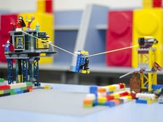 A short guide to internet resources for building Lego zip lines and explaining them to your kids.