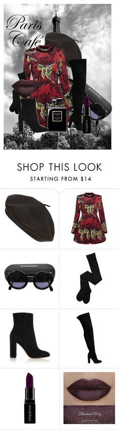 """""""Untitled #13"""" by rabroadway on Polyvore featuring Parkhurst, Marc by Marc Jacobs, Chanel, Gianvito Rossi and Smashbox"""