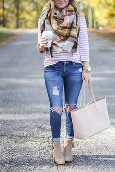 Blanket Scarf and Coffee   GlamGrace