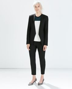 ZARA - WOMAN - TROUSERS WITH ELASTIC  WAIST