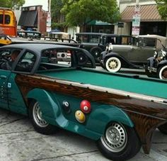 Pool table truck