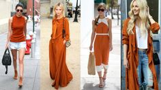 Feirinha Chic : Looks com cor canela - Alerta de tendência para o ...