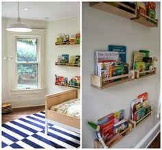 Kid's Design, Kid's room, Kid's Bedroom, Boy bedroom, Modern Boy's Bedroom, Henrik bed, IKEA Bekvam spice racks