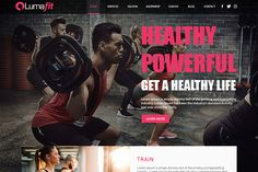 Fitness Website Design | We Love Free PSD