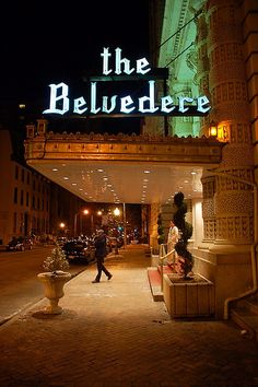 Baltimore's Belvedere Hotel, where my parents were married.
