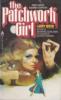 Larry Niven. The Patchwork Girl Cover Art. Fernando