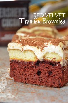 Red Velvet Tiramisu Brownies @ The Not So Creative Cook 1