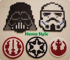 Star Wars - Hama Beads perler by dollie