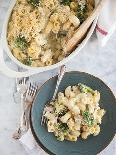 Chicken Divan Macaroni and Cheese