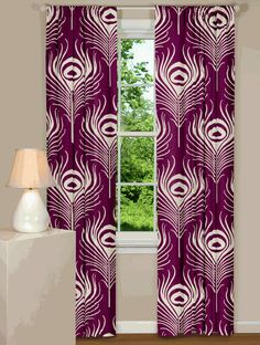 Thomas Paul Plume Curtains...website for curtains...love these!!  so fun