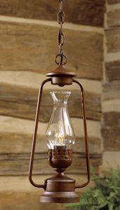 Rustic Lantern Pendant