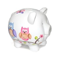 Child to Cherish Piggy Bank, Owl, Large - Listing price: $24.99 Now: $22.90 + Free Shipping