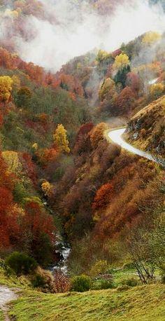 La vallée de la Santoire in Auvergne, France   Flickr - Photo by marie