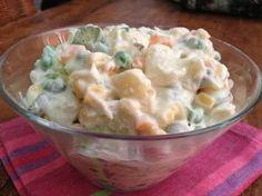 Πατατοσαλάτα η εκλεκτή! Greek Recipes, Salad Recipes, Potato Salad, Dips, Side Dishes, Salads, Recipies, Food And Drink, Appetizers