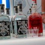 Local distilled gins and vodkas