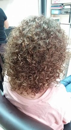 beautiful perm texture