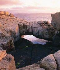 Ponte naturale formato da rocce, Western Australia   Australia