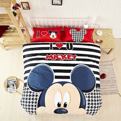 Mickey Mouse Bedding Comforter Sets Sale                              …