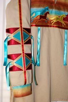 Desert Warrior Horse Native American Style Ribbon by FeralFawn, $200.00