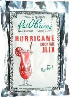 Pat O'Briens -- Hurricanes.  Def. a reminder of NOLA, but not anything I've done in a very long time.