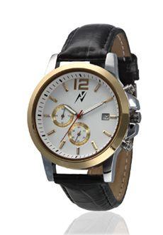 Yepme Men's Chronograph Watch - White/Black