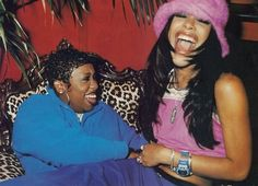 Aaliyah n Missy Elliot.such a great pic! Hip Hop Fashion, 90s Fashion, Fashion Brands, Black Is Beautiful, Beautiful People, Beautiful Pictures, Aaliyah Style, 90s Hip Hop, Black Girl Aesthetic