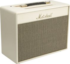 Wish I could own every guitar amp, especially this one: Marshall Class5 5W 1x10 Tube Guitar Combo Amp  Creme, Right-facing.
