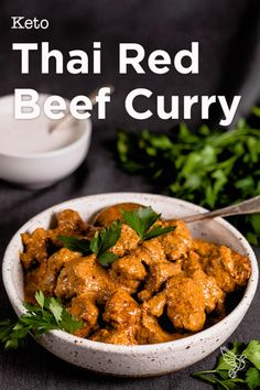 Thai Beef Curry, Keto Curry, Beef Curry Indian, Curry Recipes, Beef Recipes, Cooking Recipes, Healthy Recipes, Cooking Beef, Healthy Breakfasts