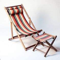 gallant and jones striped deck chairs. can't wait to have a porch/patio. Folding Furniture, Deck Furniture, Folding Chair, Lawn Chairs, Metal Chairs, Outdoor Chairs, Dining Chairs, Woodworking Square, Rockler Woodworking
