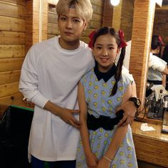 Jackson with the actress from Just Right